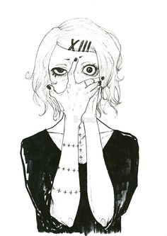 *Suzuya Juuzou* Framed Art Print by ll-kao - Vector Black - Juuzou Tokyo Ghoul, Ken Tokyo Ghoul, Juuzou Suzuya, Anime Naruto, My Fantasy World, Anime Tattoos, A Silent Voice, Anime Sketch, Kaneki