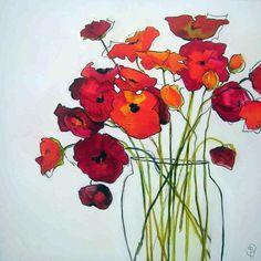 Glass Vase  92x92cm  Sara Paxton Artworks