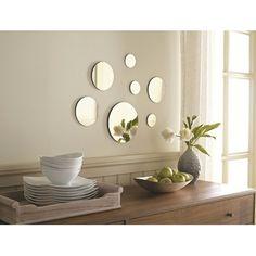 Threshold™ Frameless Circle Mirror 7 Pieces : Target Mobile