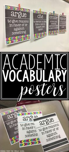 Academic Vocabulary: the What, the Why, and the How