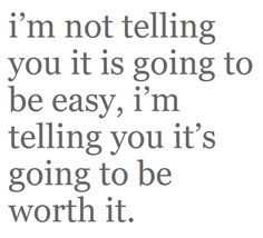 It is just worth it!