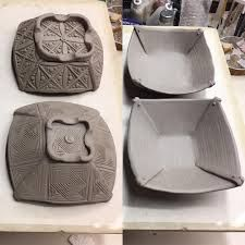 Image result for pottery triangle template