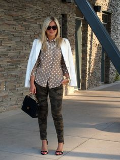 Suburban Faux-Pas: Sparkles and Camo