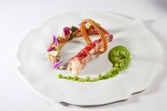 @ Restaurant Thierry Drapeau. Restaurant of a Grand Chef Relais & Châteaux. Saint-Sulpice-le-Verdon, France