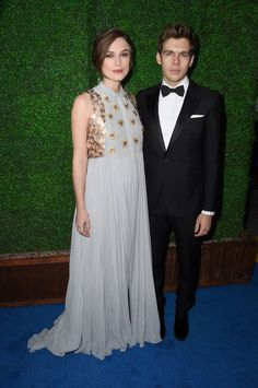 Pin for Later: Die Stars feiern weiter bei den Critics' Choice Movie Awards! Keira Knightley und James Righton
