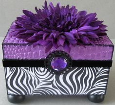 Sexy Swirl Keepsake Box by funkyart08 on Etsy, $32.00