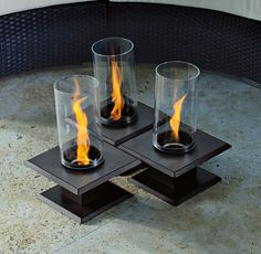 Don't just pick any firepit, make a statement with the Allure Sedona Table Top Firepit.