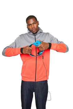 Kevin Durant with the Skullcandy Mix Master Headphone Durant Nba, Kevin Durant, Way Of Life, Thunder, Product Design, Basketball, Husband, The Incredibles, Studio