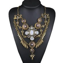 N00071 luxo marca de jóias Maxi Multi camada cadeia colar de grande Chunky exagerado colar pingente(China (Mainland))