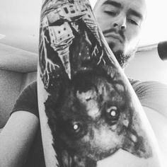 Wolf tattoo from Morty tatto & piercing - Martin, Slovakia !