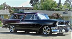 Chevrolet Nomad is a nameplate used by Chevrolet in North America from the 1950s to the 1970s, applied largely to station wagons. #chevy #nomad #station wagon #legendary car American Classic Cars, Station Wagon, North America, Chevrolet, Chevy Nomad, Nameplate, Vehicles, 1970s, Address Signs