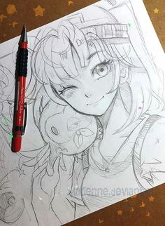Que linda ❤ art in 2019 art sketches, pokemon sketch, draw Anime Drawings Sketches, Anime Sketch, Cute Drawings, Pencil Drawings, Pencil Art, Manga Pokémon, Manga Drawing, Cute Manga Girl, Anime In