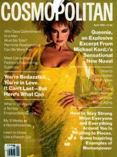 Cosmopolitan magazine, APRIL 1985 Model: Ashley Richardson   Photographer: Francesco Scavullo