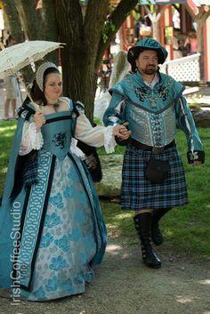 Tudor dress Renaissance fair garb Scarborough fare TX
