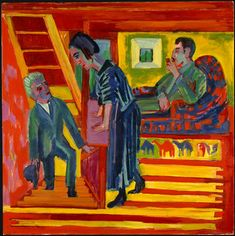 The Visit by Ernst Ludwig Kirchner