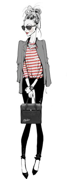 fashion illustration: malia carter <3 Fashion Style