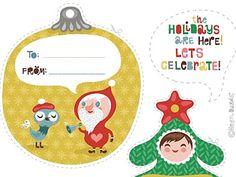 Tarjetas para Navidad de Helen Dardik | Wefreebies http://www.wefreebies.com/tarjetas-para-navidad-de-helen-dardik/