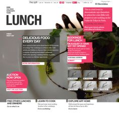 Super interactive and integrated web design that remains fresh and seemingly easy to use (from comps)