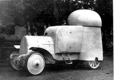 Austro-Daimler 4x4 four-wheel-drive Armoured Car (1904)