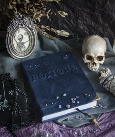 Potions sketchbook, book of shadows, spell book
