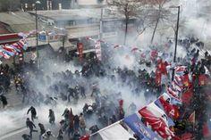 İstanbul'da korku filmi gibi müdahale