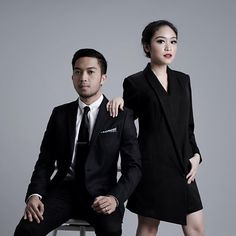 """Suit & Suit for Andy & Tasya's prewed session.  @farazandy @tasyameianda  #tasyandy #talaimage #talawork"""