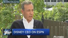Disney CEO: We've Given ESPN License to Push Left-Wing Politics | Frontpage Mag