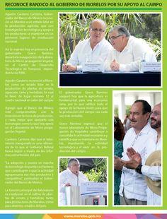 Reconoce Banxico al Gobierno de Morelos por su apoyo al campo.