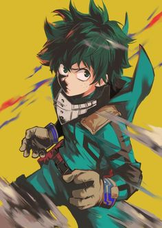 10 Anime That Will Make You Happy    Izuku Midoriya! More happy anime: http://www.animedecoy.com/2016/08/10HappyAnime.html