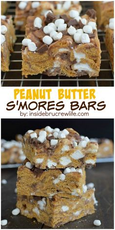 These easy no-bake s'mores bars are a perfect treat to enjoy year round. Chocolate and marshmallows inside and on top will have you grabbing…