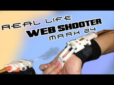 Real Life Web Shooter - Mark 24 (Mark 23 2.0 Featured, Mark 20 Cameo) - YouTube Airsoft Grenade, Crossover Episodes, First Video, Amazing Spider, Real Life, Guns, Army, Youtube, Weapons Guns