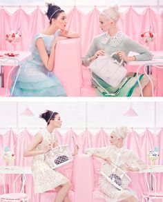 Louis Vuitton Spring Summer 2012 by Steven Meisel