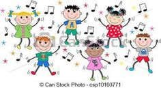 Illustration of mixed ethnci children dancing disco vector art, clipart and stock vectors. Music Crafts Kids, Music For Kids, Art For Kids, Drawing Images For Kids, Dancing Clipart, Music Tree, Dancing Baby, Children Dancing, Clip Art Pictures