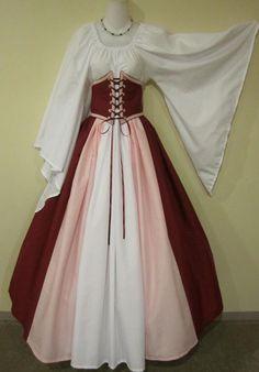 Woodland Elf Triple-Color Cincher Set - renaissance clothing, medieval, costume