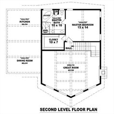 2nd Level image of Featured House Plan: BHG - 1270