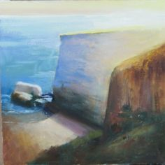Oil on Canvas Painting Workshop, Cliff, Oil On Canvas, California, Art, Art Background, Kunst, Performing Arts, Art Education Resources