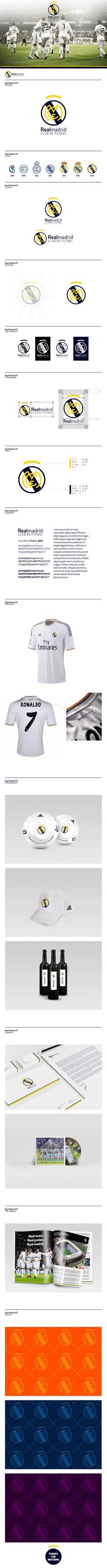 Real Madrid Logo Redesign on Behance