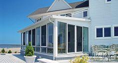 aluminum patio enclosures. White Aluminum Frame Three Season Room With Single-slope Roof Patio Enclosures Y