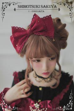 Sakuya Lolita -The Whisper of Stars- Lolita Headbow - Fast Shipping