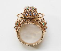 Really intricate ring by Inez Stodel - lovely!