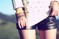 Gotta have metallic short #fashion