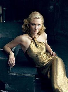 Cate Blanchett  Photograph by Annie Leibovitz