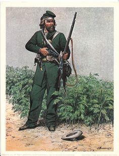 """""""PRIVATE U.S.1ST REG'T SHARPSHOOTERS 1862 