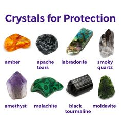 May your mind, body, and spirit stay protected with protection crystals.
