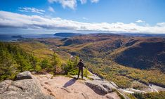 Cape Breton Island is renowned for its Cabot Trail, its dramatic coastal views, variety of hiking trails, world-class golf, and Celtic culture. See more. Cabot Trail, Indian Summer, Visit Nova Scotia, Best Travel Deals, Cape Breton, Shore Excursions, Vacation Packages, Beach Fun, Us Travel