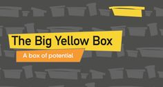 The Big Yellow Box by Mike Johnson Teacher Recruitment, Big Yellow, Chevrolet Logo, Ministry, Box, Kids, Young Children, Snare Drum, Boys
