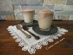Frappè al cioccocaffè Cucina vista mare