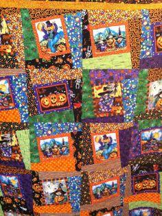 Michelle's Halloween quilt