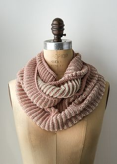 Ravelry: Two-Color Cotton Cowl pattern by Purl Soho