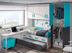Girl Bedroom Designs, Girls Bedroom, Cool Furniture, Furniture Design, Computer Nook, Living Room Decor, Bedroom Decor, Toy Rooms, Kids Room Design